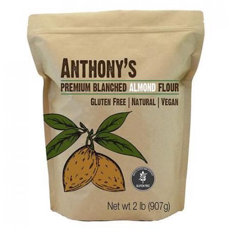 Farine d'amandes blanchie extra fine format 908g de Anthony's