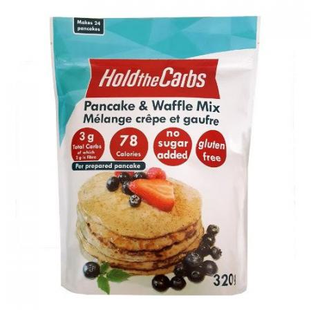 Mélange pour pancakes avec Stevia 320g 24 pancakes HoldTheCarbs