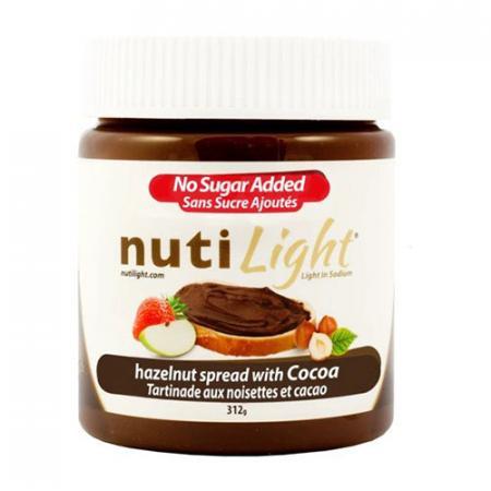NutiLight Tartinade aux noisettes et cacao 312g