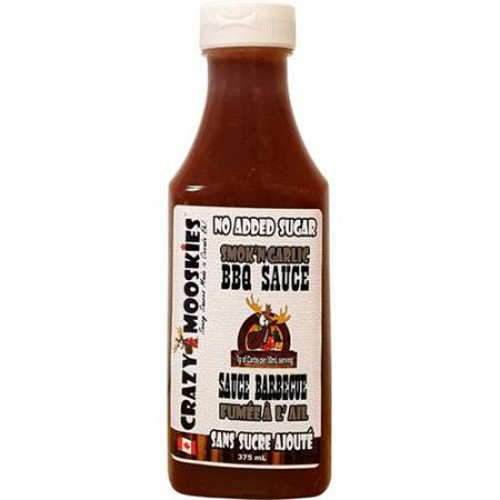 Sauce BBQ Fumée à l'ail 375ml