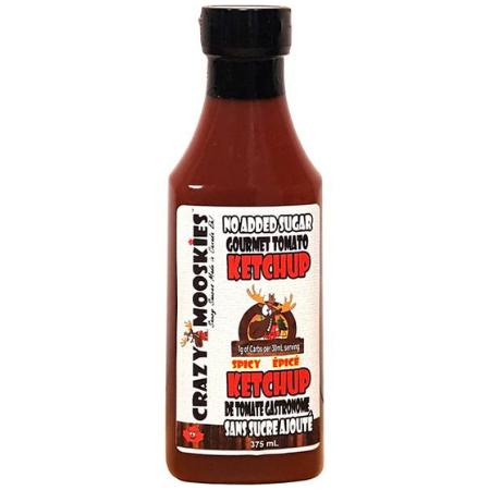 Ketchup Keto épicé 350ml